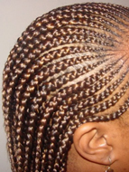 Micro braid hairstyles Manor park